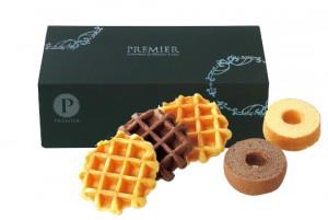 引菓子 プレミア ワッフル&バームクーヘンセット